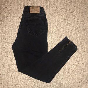 Vintage Jordache black high waisted mom jeans
